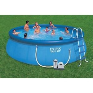 18' Easy-Set swimming pool for sale. New in box.