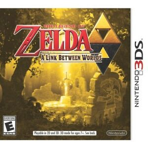The Legend of Zelda 3DS A Link between Worlds