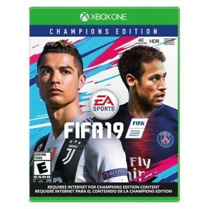FIFA 19 Champions Edition Xbox One 85$ ( New Factory Sealed )
