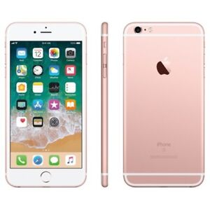 IPHONE  6S ROSE GOLD MINT CONDITION 64GB