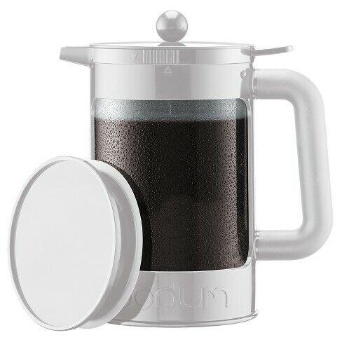 Bodum Bean Cold Brew Coffee Maker 12 Cup / 51oz - White