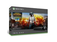 **SEALED** XBOX ONE X 1TB + PUBG GAME PREVIEW BRAND NEW.