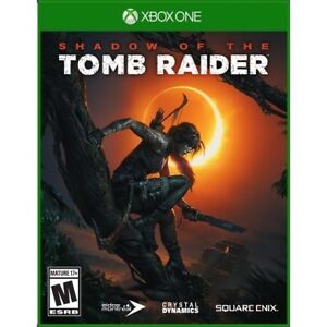 Brand new Shadow of the tomb raider xbox one edition