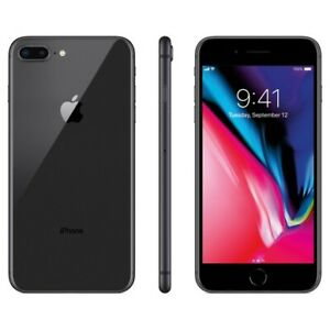 MINT Apple iPhone 8+ PLUS 256GB BLACK with APPLECARE