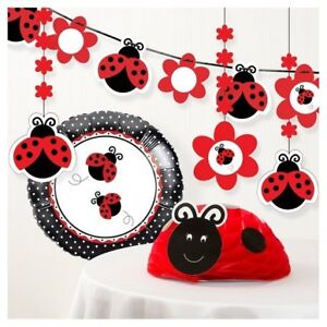 New Lady Bug  birthday party decorations