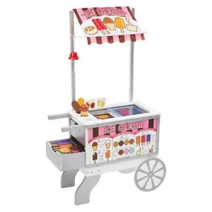 Brand NEW, in box, Melissa & Doug Sweets and Snacks cart