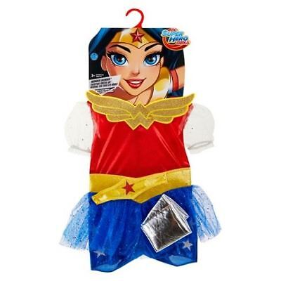 DC Super Hero Wonder Woman Every Day Dress-Up Costume For Girls 4-6