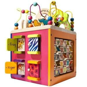 B. Zaney Zoo Activity Cube for babies