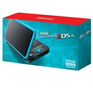 New 2DS XL - Turquoise (+original box & charger)