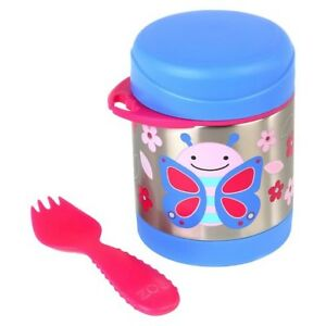 Brand New Skip Hop Zoo Insulated Food Jar - Butterfly