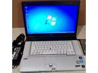 Laptop i7 2.2Ghz Intel Processor 8GB RAM 1TB SATA HARD DISK (Fujitsu)