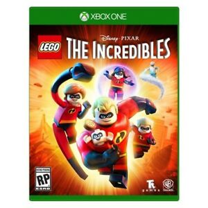 the incredibles lego game xbox one brand new sealed