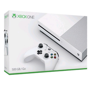 Xbox One S 500gb with 1TB external