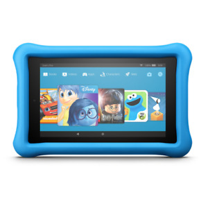 "Amazon Fire 7"" Kids Edition Android Tablet with case"