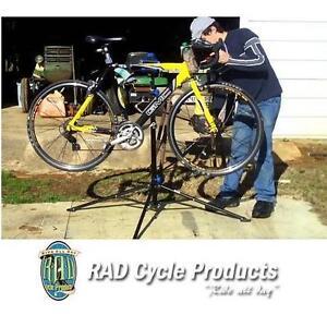 NEW RAD CYCLE BIKE ADJ REPAIR STAND - 119098561 - ADJUSTABLE BICYCLE REPAIR STAND WORKSTANDS