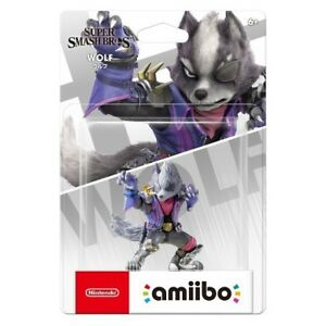 Super smash bros Wolf amiibo