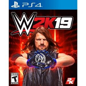 WWE 2K19 PS4 for trade/sale