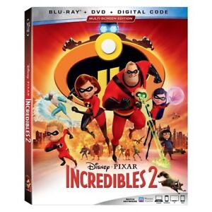 Incredibles 2, Coco, Cars 3 DVD