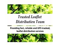 TRUSTED- GPS-TRACKED LEAFLET DISTRIBUTION -Door to Door Leaflet Distributors!