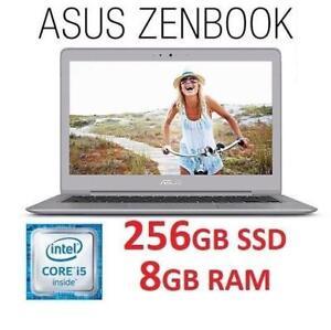 REFURB ASUS ZENBOOK 13.3 LAPTOP PC UX330UA-AH54 185063059 I5 7200 8GB RAM 256GB SSD WIN 10 OS COMPUTER PC REFURBISHED