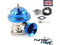 Universal Light Blue Type Rs Turbo Blow Off Bov Dump Valve Kit 40mm