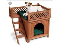 Indoor Castle kennel bed for small animal cat dog ferret