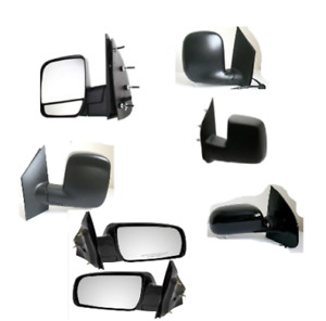 Side mirror for Ford E150 E250 E350 Express Savana Astro Safari