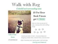 Dog Walking and Boarding Services - Walk With Reg.