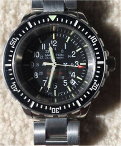 Marathon WW194007 TSAR 41mm Full size Quartz 10/2010 serviced