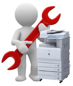 Reparation  Service imprimantes Printers