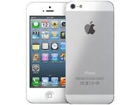 iPhone 5S 16GB White/Silver - Excellent Condition - Unlocked