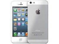 IPHONE 5 16GB SILVER BOXED