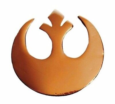 Rebel Alliance Costume (Star Wars Goldtone Rebel Alliance Metal Enamel Costume)