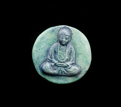 Pendant Of Buddha Position Lotus Ceramic Buddha Creation Craft 8798