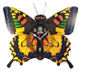 Motion Butterfly Wall Clock W/Sounds,Wings Movement,14