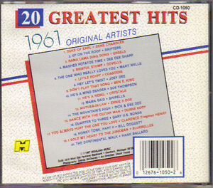 20 Greatest Hits 1961 - Original Artists West Island Greater Montréal image 2