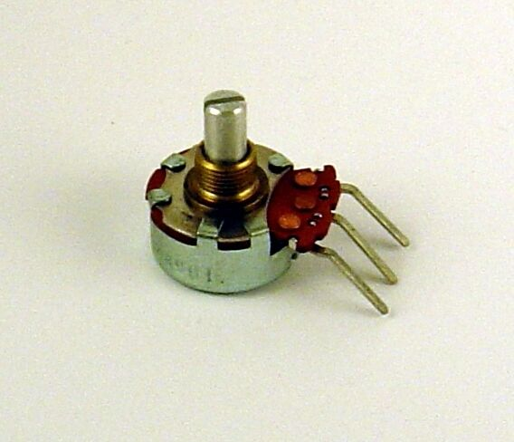 200K 1W (Lot of 5) Linear Taper Potentiometer, 1 Watt, Clarostat