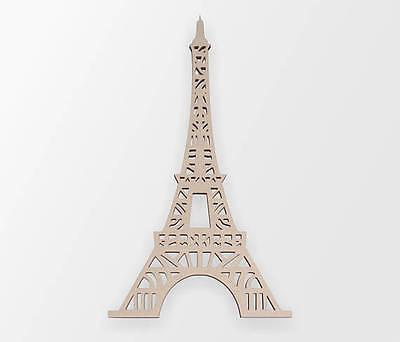 Eiffel Tower Cut Out (Wooden Shape Eiffel Tower, Wooden Cut Out, Wall Art, Home Decor, Wall)