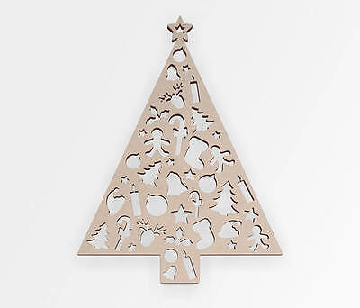 Christmas Tree Wooden Cut Out, Wall Art, Home Decor, Wall Hanging, Unfinished ](Christmas Cut Out Decorations)