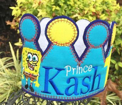 Sponge Bob Birthday Crown,Sponge Bob Party,Sponge bob Birthday, Sponge bob Ideas