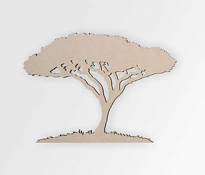Wooden shape Tree, Tree Wall Art, Home Decor, Wall Hanging, Unfinished ()