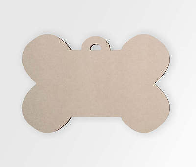 Wooden Dog Bone Tag - Cut Out, Wall Art, Home Decor, Wall Hanging, Unfinished](Cut Out Decorations)
