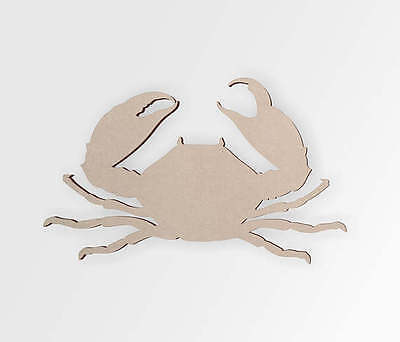 Wooden Crab, Cut Out- Crab Wall Art, Wall Decor, Home Decor, Wall Hanging Cut Out Wall Decoration