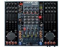 Allen&Heath XONE:4D 20 Channel DJ Mixer MIDI Controller