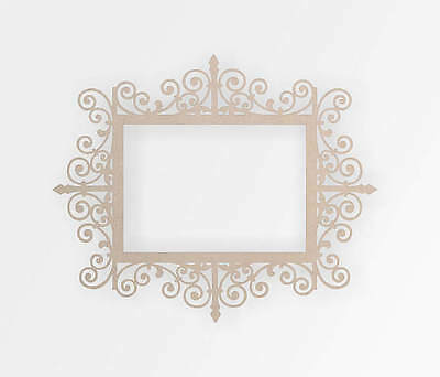 Wooden Decorative Frame - Cut Out, Wall Art, Wall Decor, Home Decor,Wall (Cut Out Frame)