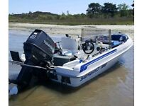 Terhi Seabird 700 boat with 40hp Tohatsu outboard