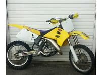 suzuki rm 125 motorcross bike crosser 85 250 ktm yz cr kx pit bike moped quad