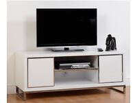 New Charisma 2 Door 1 Shelf Flat Screen TV Unit Stand