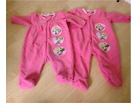 Minnie Mouse 2x sleep suits