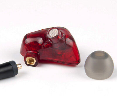 FCS210 Ruby-Red Dual Dynamic Driver In Ear Monitor Earphone FREE GLOBAL SHIPPING